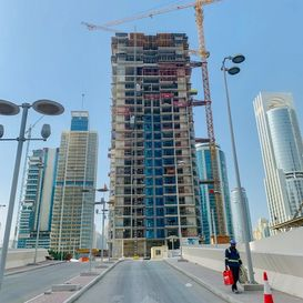 Building under construction - Dubai Apartment - Kristal property