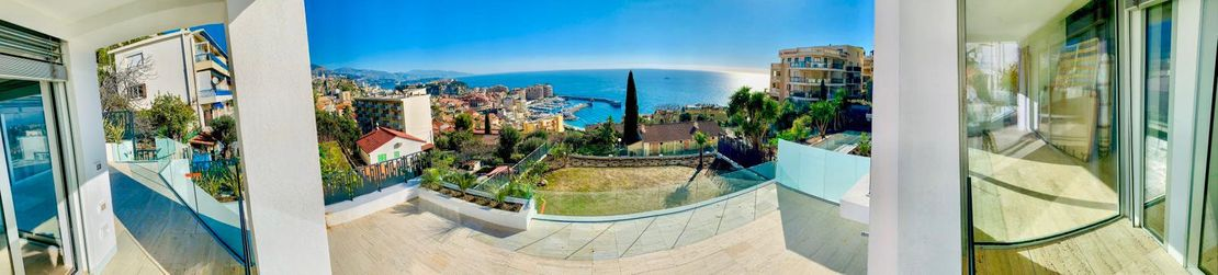 Terrace with view - CAP D'AIL Residence - Kristal SA