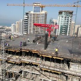 Building framework - Dubai Apartment - Kristal property