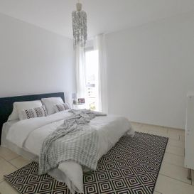 Garden Residence Ascona - Bright and spacious bedroom - Kristal SA
