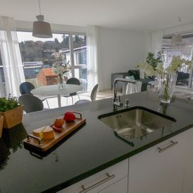 Garden Residence Ascona - Kitchen with view - Kristal SA