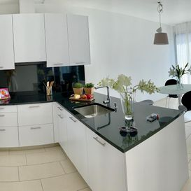 Garden Residence Ascona - Bright and spacious kitchen - Kristal SA